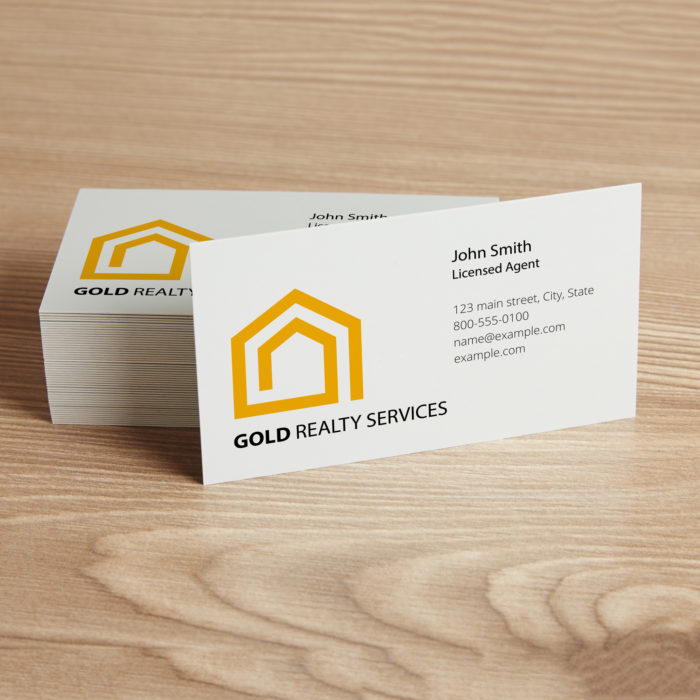 Custom printed corporate business cards