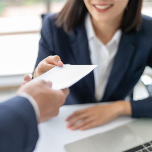Custom corporate business invitation envelopes