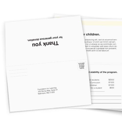 Custom printed corporate envelopes