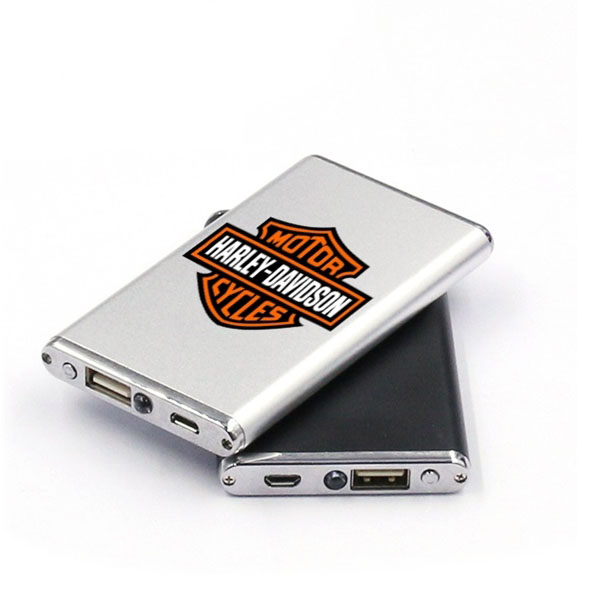 Custom branded power bank promotional item