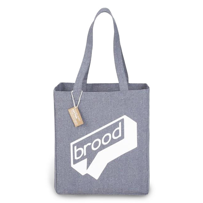 Custom branded promotional tote bag