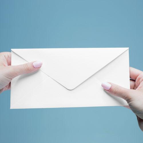 printed stationery envelopes