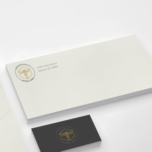 Custom corporate stationery envelopes